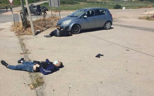 """סוכל פיגוע: כוחות צה""""ל חיסלו מחבלים שירו לעברם סמוך לבסיס סאלם בשומרון"""