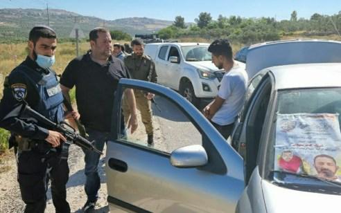 ראש מועצת שומרון ירה באוויר ועצר מחבל בשומרון