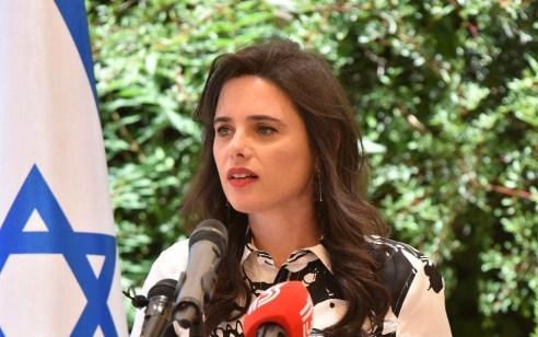 """שרת הפנים איילת שקד: 'אפעל להשיב מסתננים לארצם ולעודד יציאה מרצון למדינות בטוחות"""""""