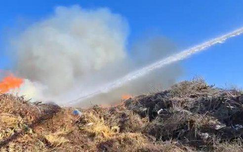 טרור הבלונים: 9 שריפות פרצו בישובי אשכול שבעוטף עזה ונגרמו מבלוני תבערה
