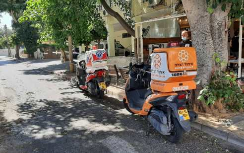 הולך רגל בן 60 נפגע ממשאית בתל אביב – מצבו בינוני