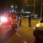 רוכב קורקינט חשמלי נפצע קשה מפגיעת רכב בתל אביב