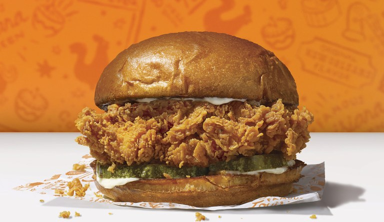 Popeyes chicken sandwich
