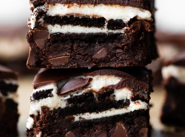 Cookies N' Cream Brownies