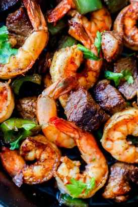 Cajun Steak Shrimp