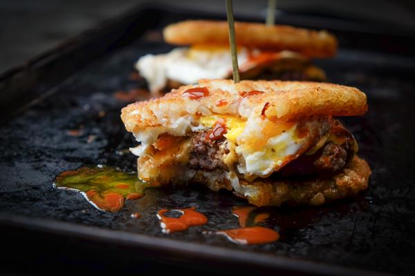 Hashbrown Breakfast sandwich