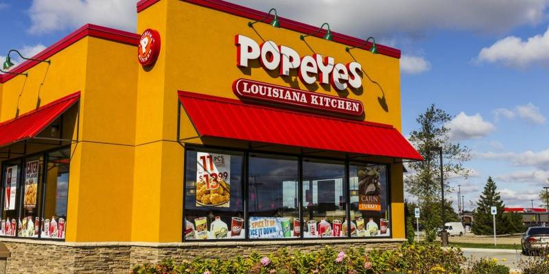 Popeyes Buffalo Chicken