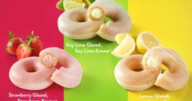 Lime Krispy Kreme