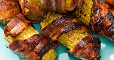 bacon corn