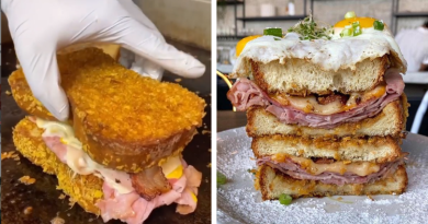 Cereal Crusted Sandwich