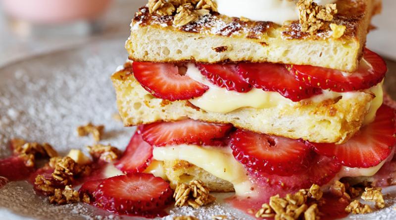 strawberry shortcake french toast