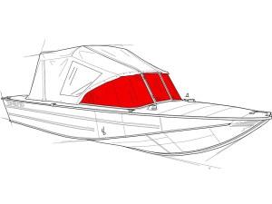 Стекло на лодку Днепр