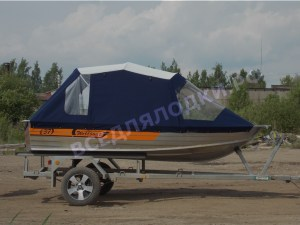 Тент на Wellboat 37