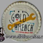 Special Occasion Business Event Party Corporate Logo Cake by All4Fun Cakes LLC