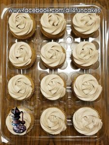 Sugar Free Snickerdoodle Cupcakes by All4Fun Cakes