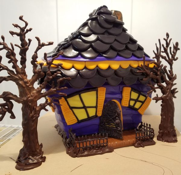 Haunted House Cake Tutorial Part 4 - Creepy Board Bats Ghosts by Caking with All4Fun Cakes