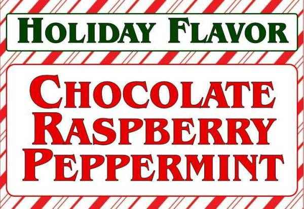Chocolate Raspberry Peppermint Cakes and Cupcakes - Christmas Holiday Special Flavor 2017 - All4Fun Cakes