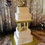 50th Wedding Anniversary Simply Snickerdoodle Cake by All4Fun Cakes LLC 2018