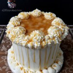 Birthday Anniversary Holiday Party Caramel Apple Spice Dessert Cake by All4Fun Cakes LLC 2017