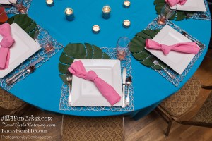 Flamingo Theme Table  - All4Fun Cakes LLC 2018 - Two Girls Catering