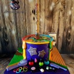 Softball Basketball Art MakeUp Hair Friends Birthday Cake Special Occasion by All4Fun Cakes LLC 2017