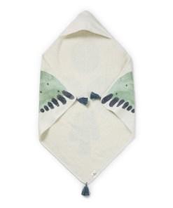 Brisačka s kapuco- Watercolor Wings
