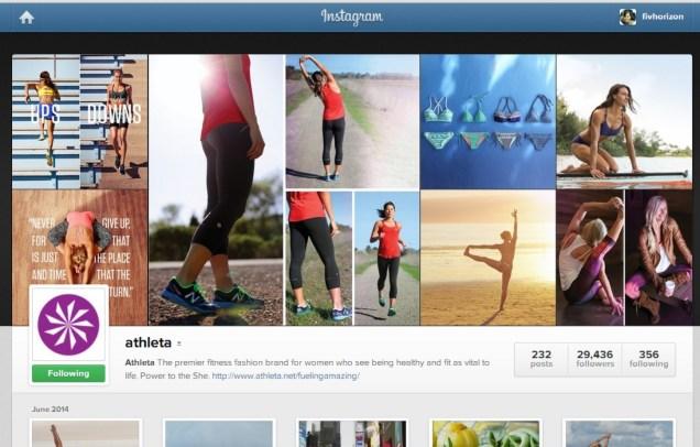 Athleta Instagram