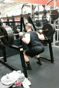Kyle Milligan Squat 315 workout bigger glutes
