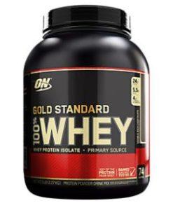 Gold Standard Whey Protein Supplement