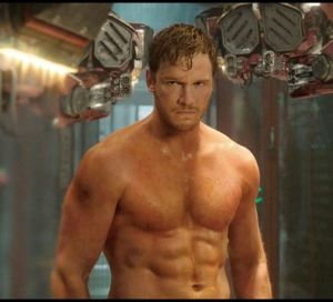 Chris Pratt Abs Star Lord Guardians of the galaxy