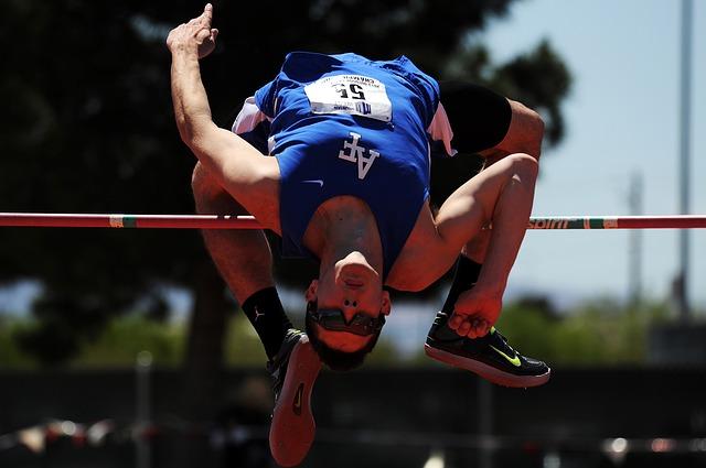 expert high jump
