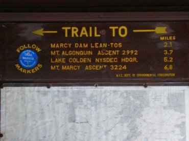 Heading up to Mt. Marcy