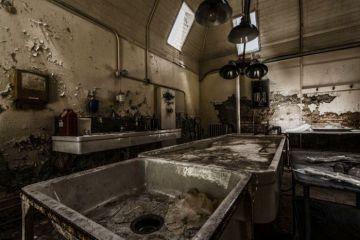 Εγκαταλελειμμένα κτίρια Willard morgue New York