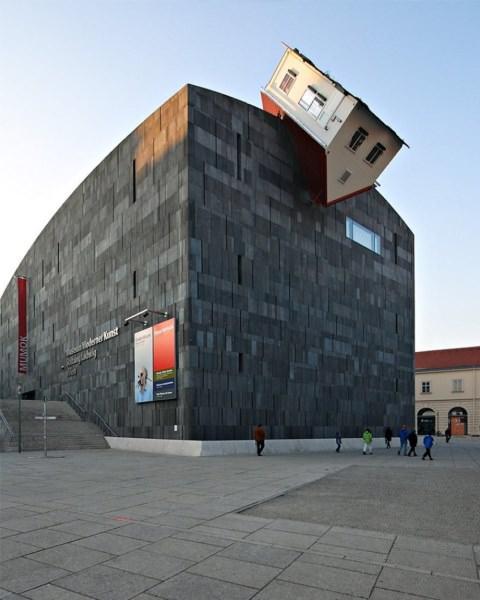 allabout.gr Κτίριο Erwin Wurm House Attack (Βιέννη, Αυστρία)