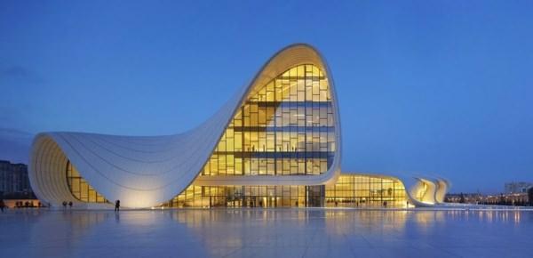 allabout.gr Κτίριο Heydar Aliyev Cultural Center (Μπακού, Αζερμπαϊτζάν)