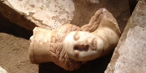 κεφάλι σφίγγας Αμφίπολη allabout.gr