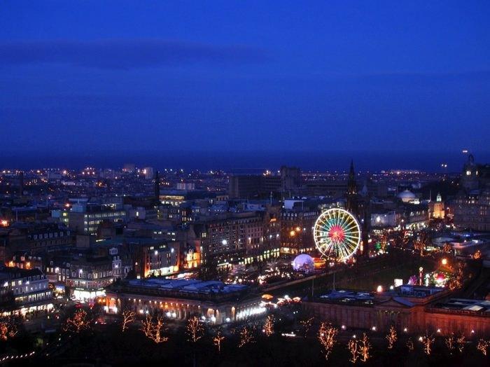 Χειμερινοί Προορισμοί στην Ευρώπη Εδιμβούργο, Σκωτία