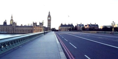 πως είναι το Λονδίνο χωρίς κόσμο London