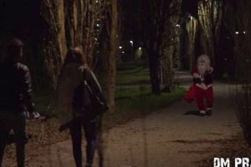 Τρομακτική φάρσα με Psycho Άγιο Βασίλη allabout.gr