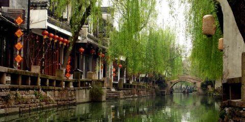 Υπέροχα χωριά που επιπλέουν στο νερό zhouzhuang allabout.gr
