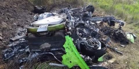 Τρομακτικό ατύχημα με Lamborghini Huracan έτρεχε με 312 allabout.gr