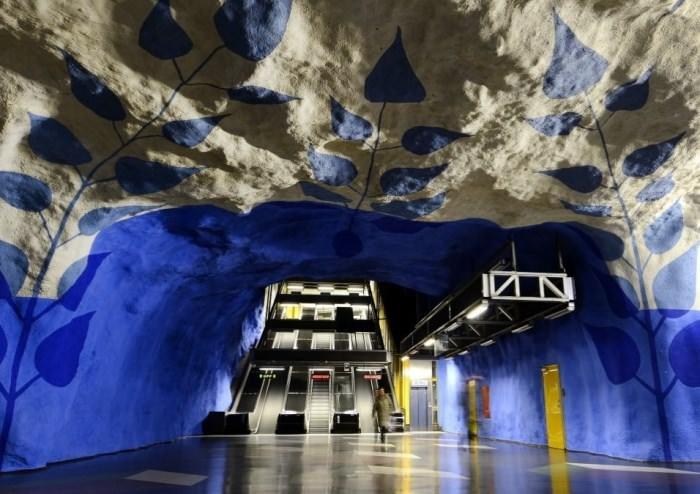 Πιο όμορφοι σταθμοί μετρό στον κόσμο T-Centralen Station