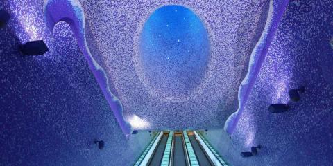 Πιο όμορφοι σταθμοί μετρό στον κόσμο toledo station napoli