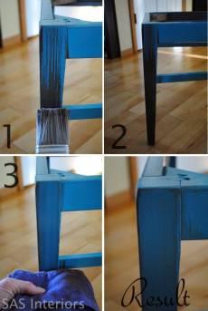 BAΨΙΜΟ: Δώστε ΠΑΛΑΙΩΜΕΝΗ ΟΨΗ σε ξύλινα ΕΠΙΠΛΑ(4)