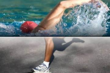 τρέξιμο ή η κολύμβηση