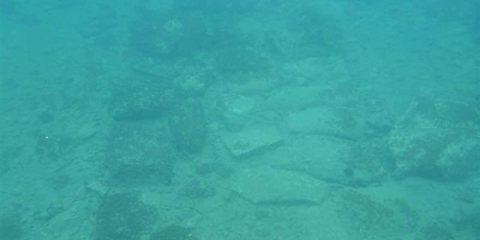 Ανακαλύφθηκε βυθισμένος οικισμός στον όρμο Κοιλάδας στην Αργολίδα.