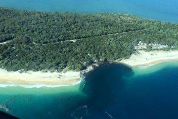 Καταβόθρα στην Αυστραλία εξαφάνισε ένα τεράστιο μέρος της παραλίας
