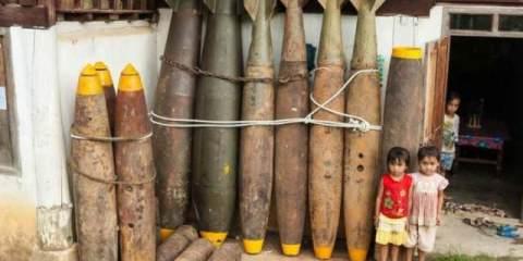 Τι έκαναν στο Λάος τις βόμβες μετά το τέλος του πολέμου του Βιετνάμ
