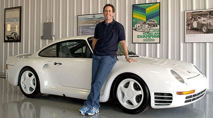 Jerry Seinfeld Έτσι είναι τα γκαράζ των πλουσίων που είναι παθιασμένοι με τα αυτοκίνητα