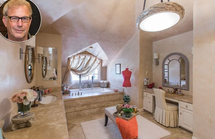 Kevin Costner bathroom